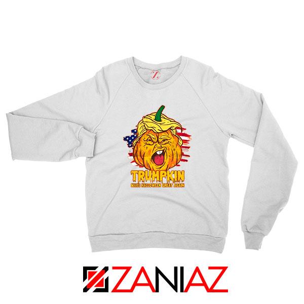 Trumpkin White Sweatshirt