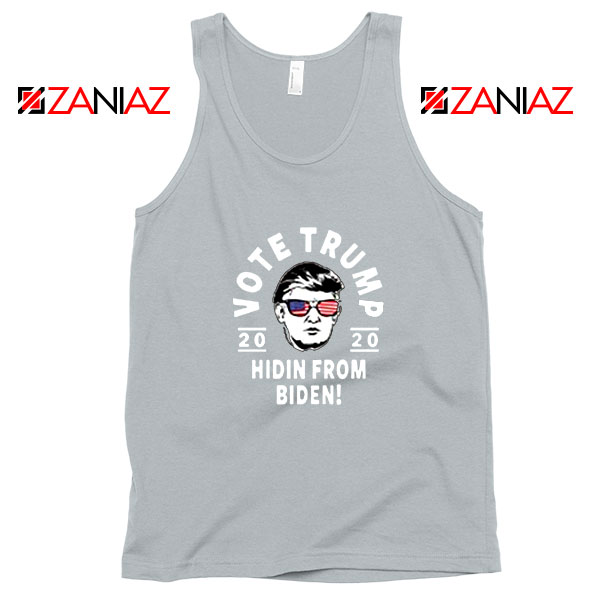 Vote Donald Trump 2020 Sport Grey Tank Top