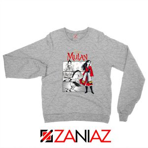 Womens Mulan Sport Grey Sweatshirt