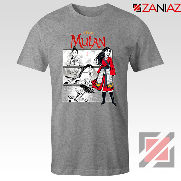 Womens Mulan Sport Grey Tshirt
