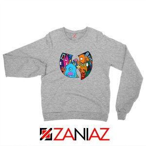 Wu Tang Monster Sport Grey Sweatshirt
