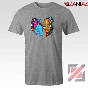 Wu Tang Monster Sport Grey Tshirt