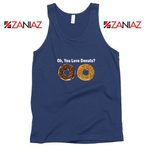 You Love Donuts Navy Blue Tank Top