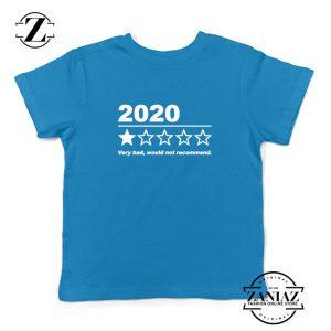 2020 Bad Year Kids Blue Tshirt