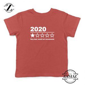 2020 Bad Year Kids Red Tshirt