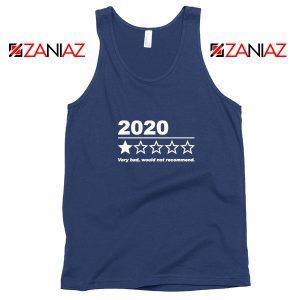 2020 Bad Year Navy Blue Tank Top