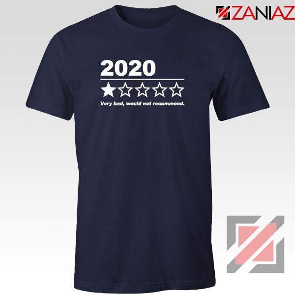 2020 Bad Year Navy Blue Tshirt