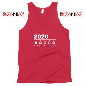 2020 Bad Year Red Tank Top