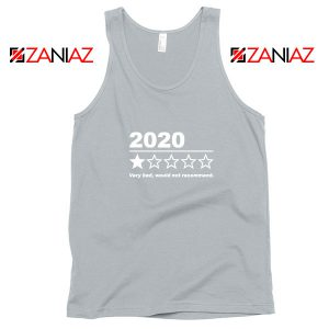 2020 Bad Year Sport Grey Tank Top