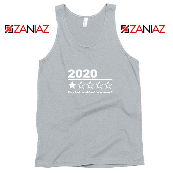 2020 Bad Year Sport Grey Tank Top
