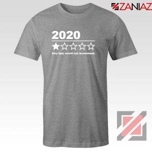 2020 Bad Year Sport Grey Tshirt