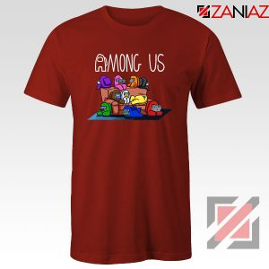 Among Us Couch Red Tshirt