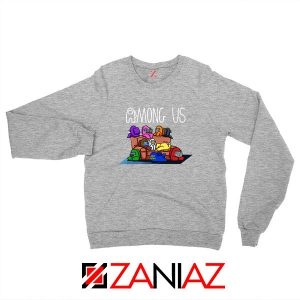 Among Us Couch Sport Grey Sweatshirt