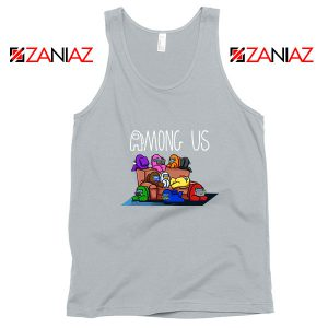 Among Us Couch Sport Grey Tank Top