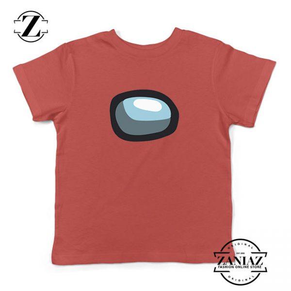 Among Us Eye Kids Red Tshirt