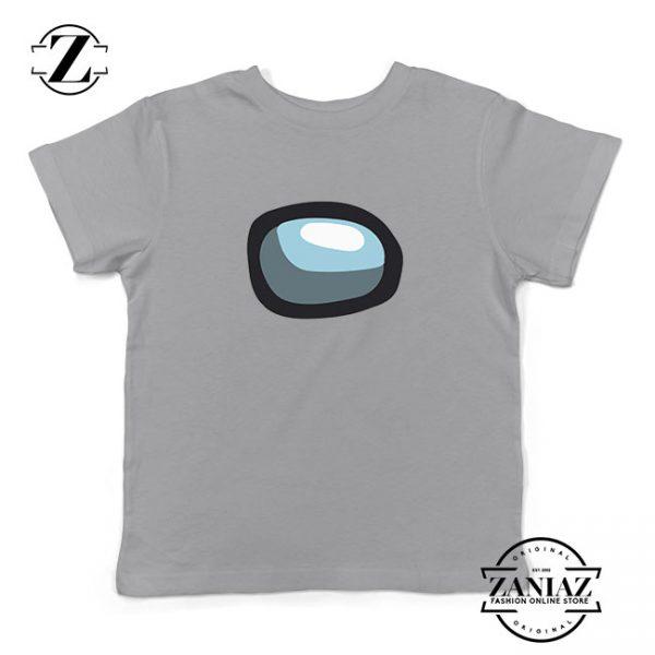Among Us Eye Kids Sport Grey Tshirt