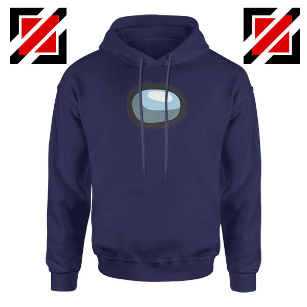 Among Us Eye Navy Blue Hoodie
