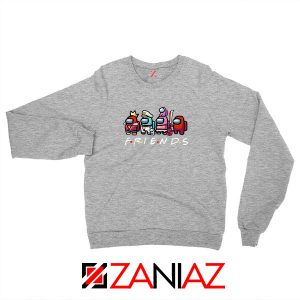 Among Us Friends Sport Grey Sweatshirt