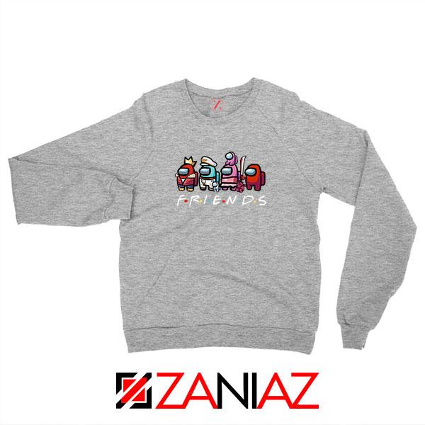 Among Us Friends Sport Grey Sweatshirt