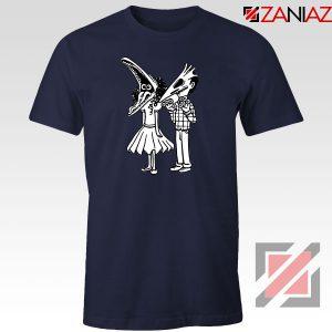 Beetlejuice Navy Blue Tshirt