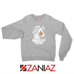 Digging Halloween Sport Grey Sweatshirt