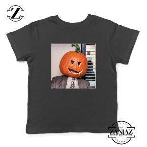 Dwight Pumpkin Head Kids Tshirt