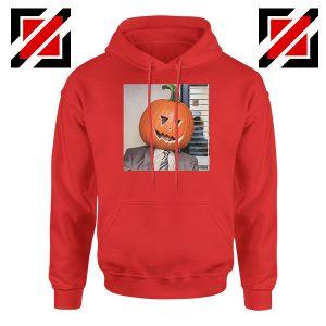 Dwight Pumpkin Head Red Hoodie