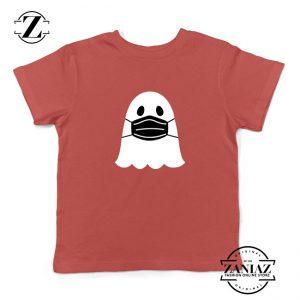Ghost Mask 2020 Kids Red Tshirt
