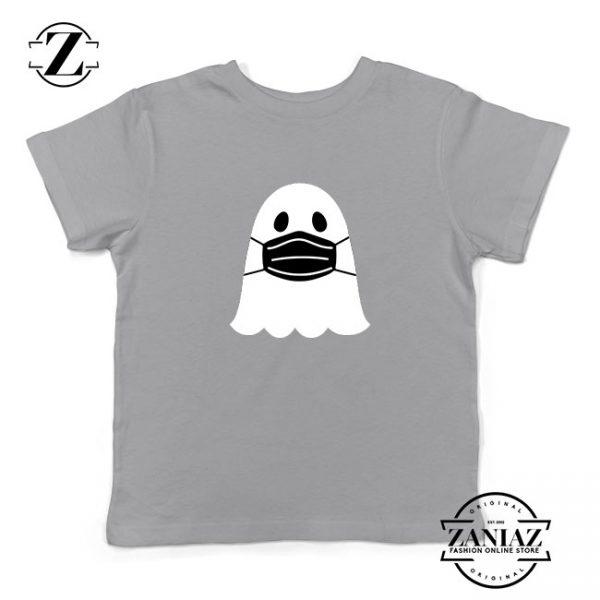 Ghost Mask 2020 Kids Sport Grey Tshirt