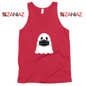 Ghost Mask 2020 Red Tank Top