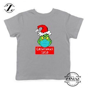 Grinchmas 2020 Kids Sport Grey Tshirt