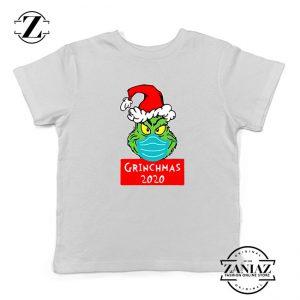 Grinchmas 2020 Kids Tshirt