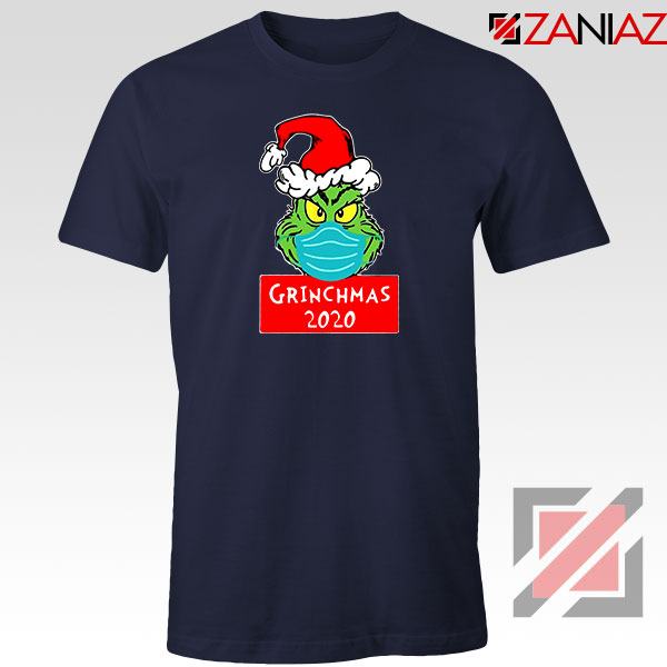 Grinchmas 2020 Navy Blue Tshirt