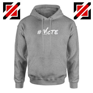 Hashtag Vote Sport Grey Hoodie