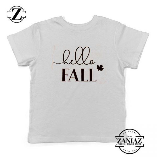Hello Fall Kids Tshirt