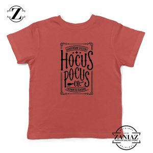 Hocus Pocus Kids Red Tshirt