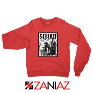 Hocus Pocus Squad Red Sweatshirt