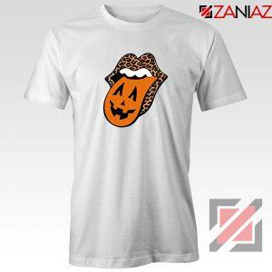 Leopard Pumpkin Mouth Tongue Tshirt