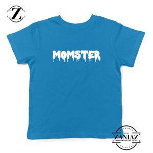 Momster Halloween Kids Blue Tshirt