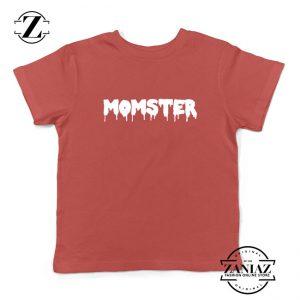 Momster Halloween Kids Red Tshirt