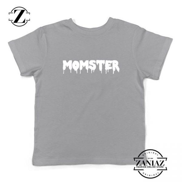 Momster Halloween Kids Sport Grey Tshirt