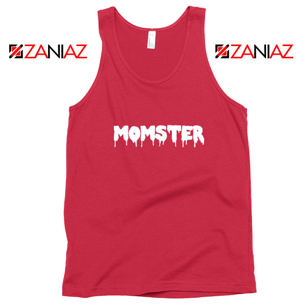 Momster Halloween Red Tank Top