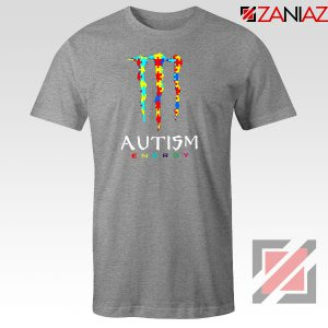 Monster Autism Energy Sport Grey Tshirt