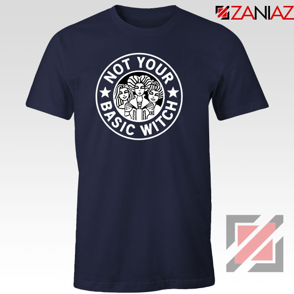 Not Your Basic Witch Navy Blue Tshirt