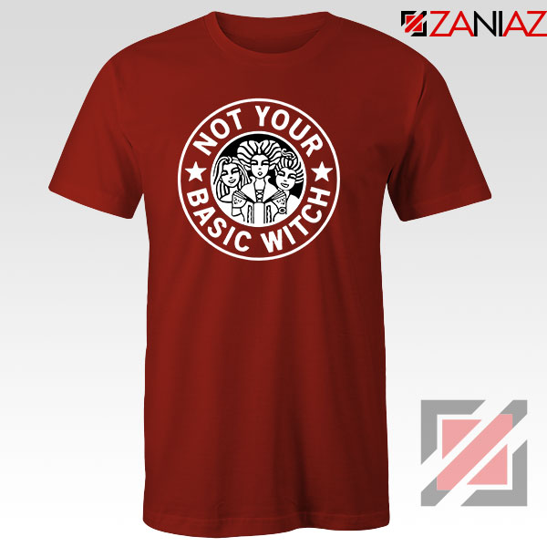 Not Your Basic Witch Red Tshirt