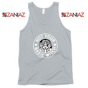 Not Your Basic Witch Sport Grey Tank Top