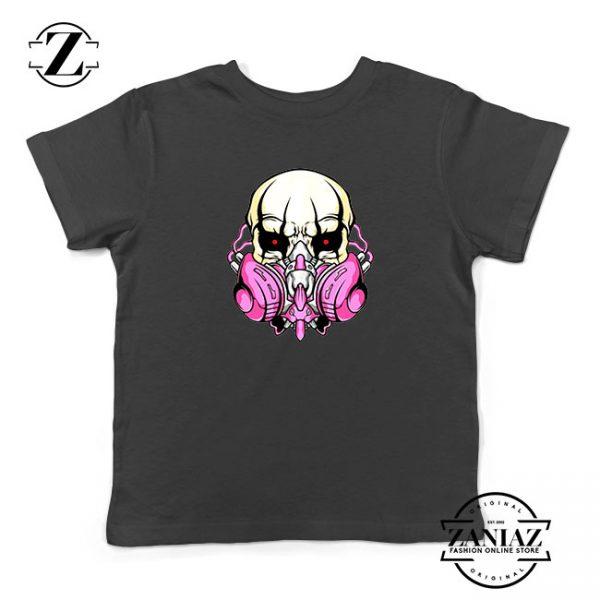 Skull Gas Mask Kids Tshirt
