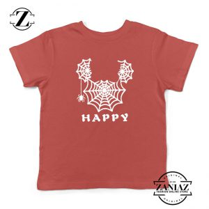 Spider Mickey Mouse Kids Red Tshirt