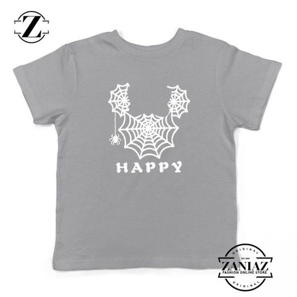 Spider Mickey Mouse Kids Sport Grey Tshirt