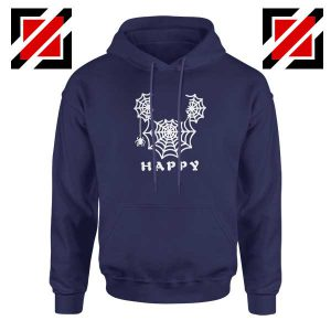 Spider Mickey Mouse Navy Blue Hoodie